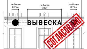 Согласование бегущих строк (светодиодной рекламы) на фасаде здания в Ставрополе